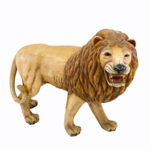 Large lifesize Lion statue.