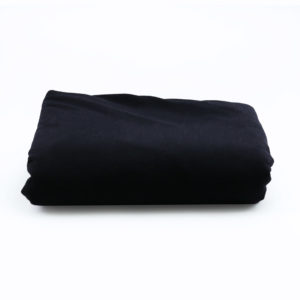 Black round 2m tablecloth.