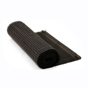 Bamboo runner to complement an Asian style dinner setting