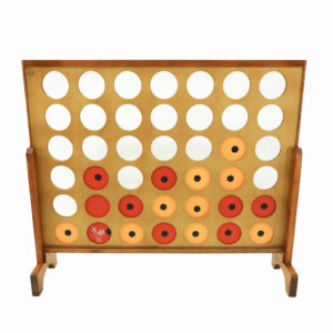 "Giant ""Connect Four"" Game."