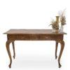 Antique timber registration table.