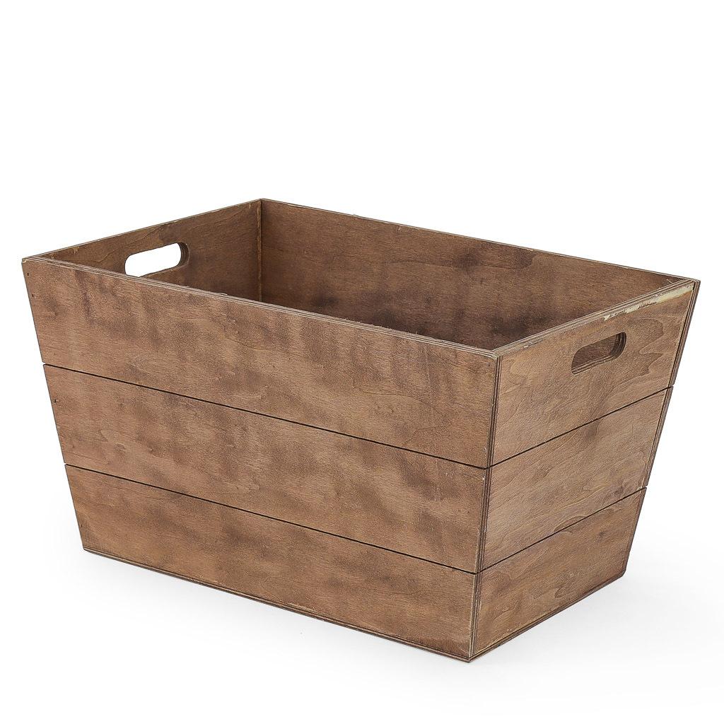 Timber box.