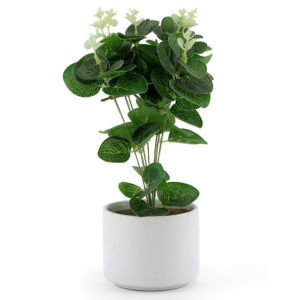 This faux potted plant will add a nice touch of greenery to your event.