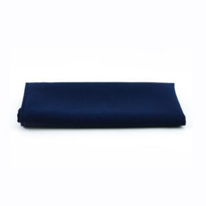Navy blue napkins.