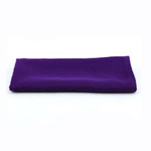 Purple napkin.