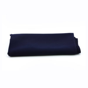 Dark navy blue napkins.