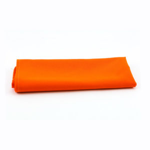 Orange napkins.