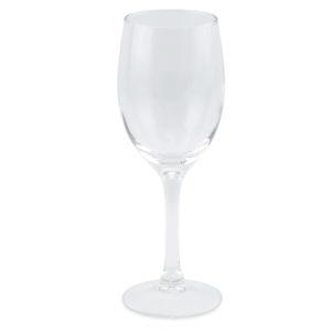 White wine glass.