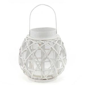 White cane lantern.