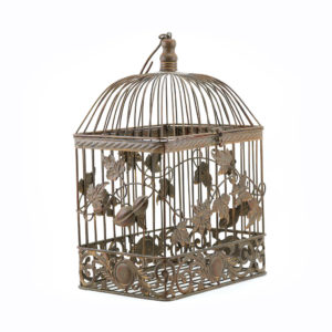 Vintage birdcage. 