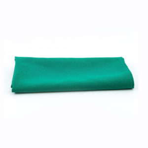 Dark green napkins.