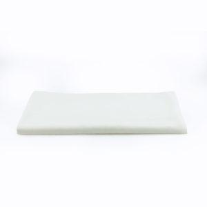 White trestle tablecloth - 2.7m x 1.4m. CLS.