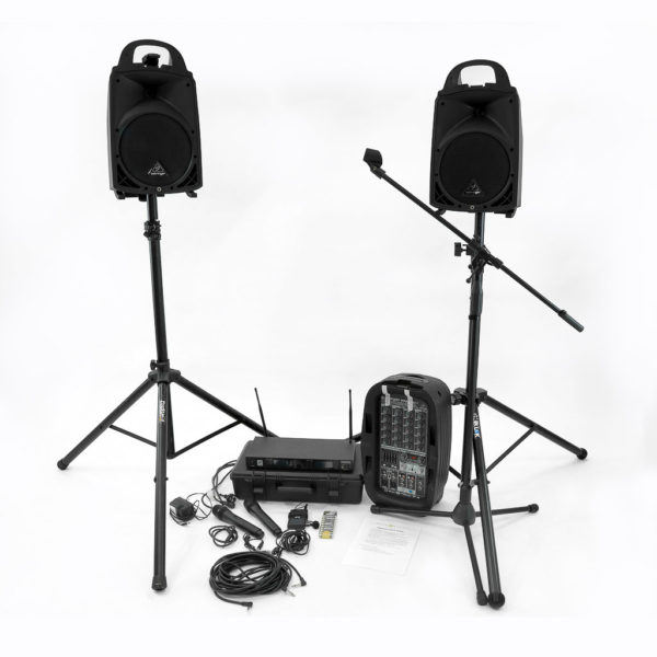 PA speaker system.
