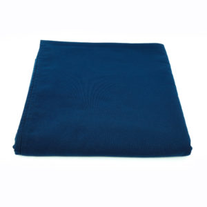 Navy round tablecloth. 3m.