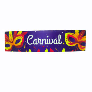 "Large ""Carnival"" corflute sign."