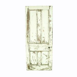 White vintage door.