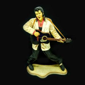 Lifesize Elvis statue.