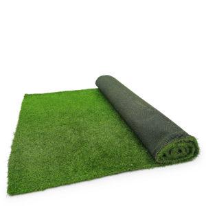 Premium turf. made up of three pieces of 1.8m x 3.9m.