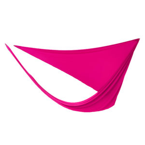 Hot pink 3-point lycra sails.