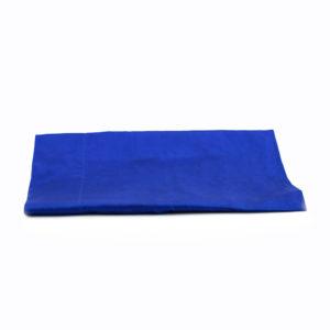 Bali flags - cobalt blue satin.