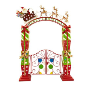 3 metre tall LED Christmas gates.