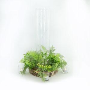 Woodland vase centrepiece.