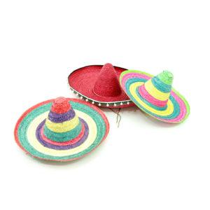 Mexican style sombrero.