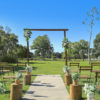 This rustic package creates an enchanting Wedding ceremony that will evoke feelings of good old-fashioned country charm. Couple this with the picturesque and breathtaking views at some of our local venues and you and your guests will experience a truly unforgettable Wedding ceremony.  Package price includes set up and pack down.  NOTE: Package price includes faux floral arrangement on the timber arbour and on the timber stumps.  We are also able to provide fresh florals on the timber arbour as an alternative upgrade.